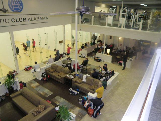 Athletic Club Alabama South Racquetball Courts