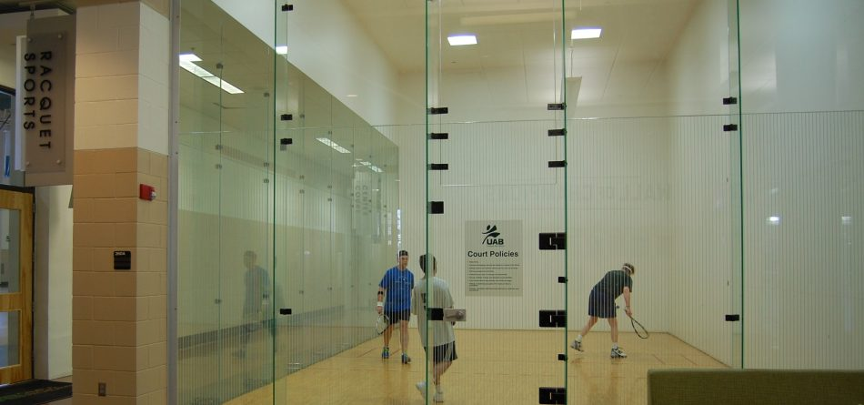 UAB Rec Center Racquetball Court