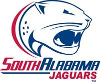 South Alabama Jaguars white background