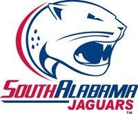 South Alabama Jaguars white background