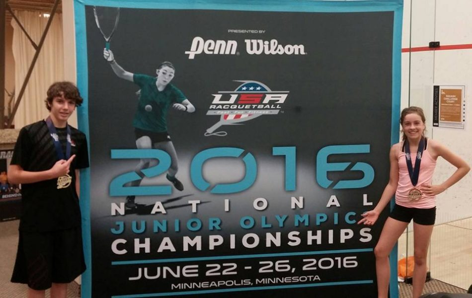 Parker McCoy at the 2016 Junior Olympic Championship