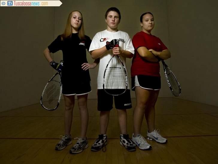 Smith, Hemphill, Smith, May 2009, Racquetball Players